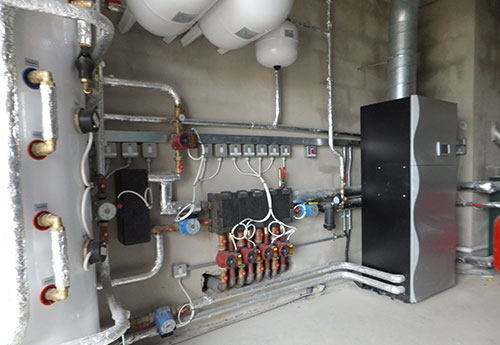 Large Air to water heat pumps